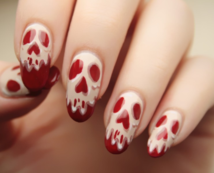 halloween-nail-ideas-188 89+ Seriously Spooky Halloween Nail Art Ideas