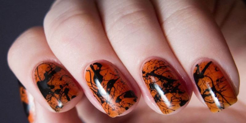 halloween-nail-ideas-196 89+ Seriously Spooky Halloween Nail Art Ideas