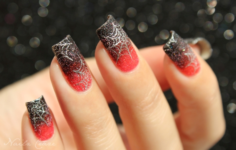 halloween-nail-ideas-204 89+ Seriously Spooky Halloween Nail Art Ideas