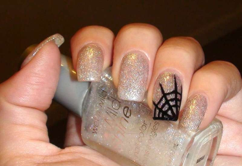 halloween-nail-ideas-211 89+ Seriously Spooky Halloween Nail Art Ideas