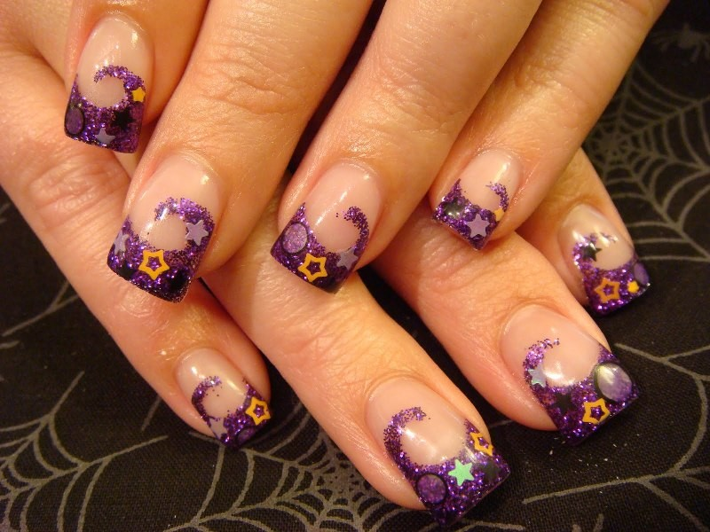 halloween-nail-ideas-217 89+ Seriously Spooky Halloween Nail Art Ideas
