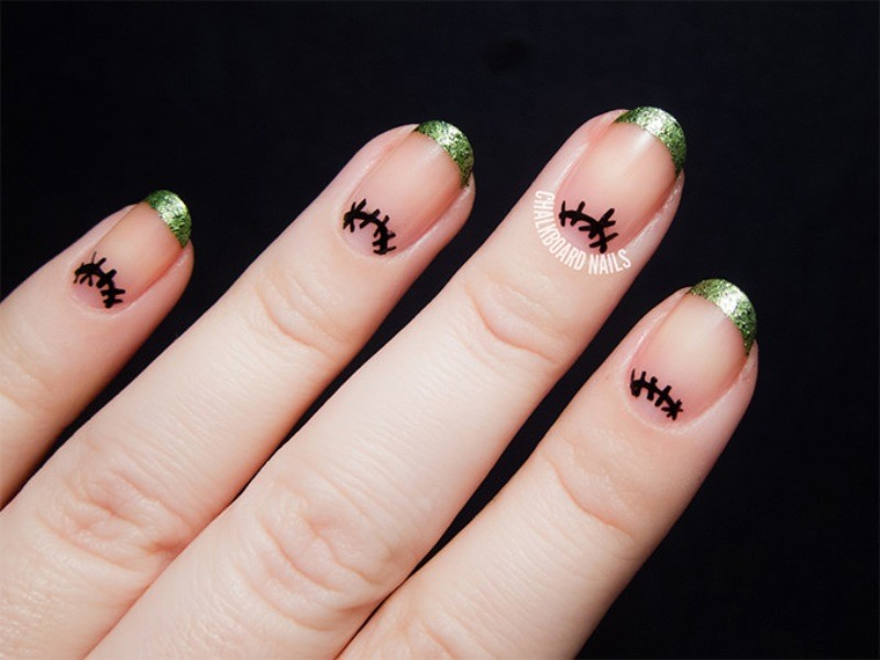 halloween-nail-ideas-221 89+ Seriously Spooky Halloween Nail Art Ideas