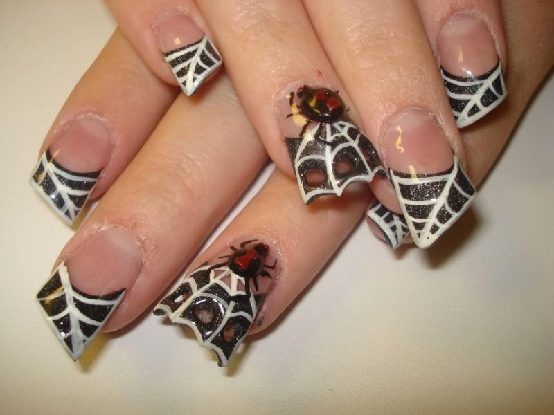 halloween-nail-ideas-227 89+ Seriously Spooky Halloween Nail Art Ideas