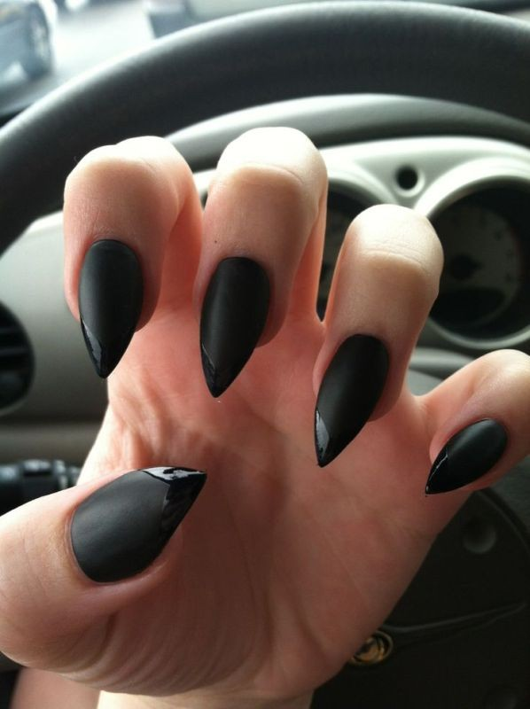 halloween-nail-ideas-28 89+ Seriously Spooky Halloween Nail Art Ideas