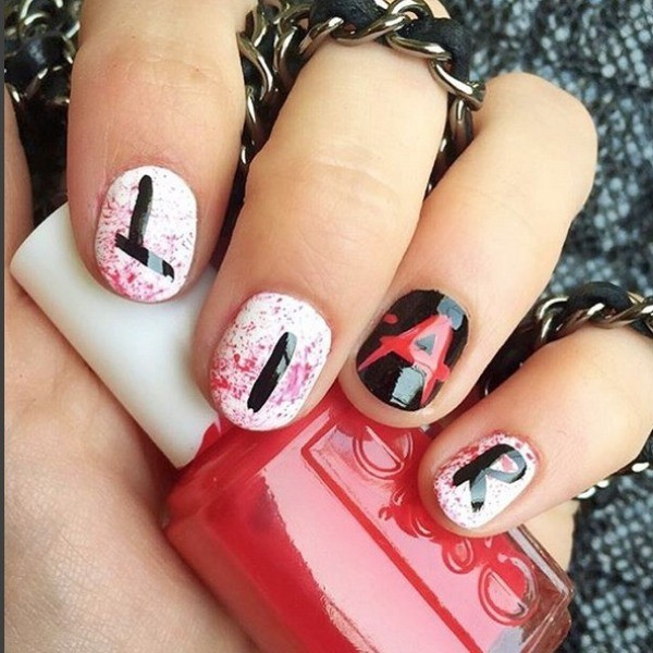 halloween-nail-ideas-35 89+ Seriously Spooky Halloween Nail Art Ideas