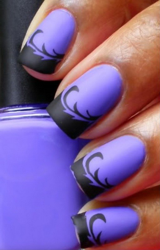 halloween-nail-ideas-4 89+ Seriously Spooky Halloween Nail Art Ideas