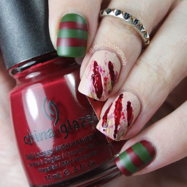halloween-nail-ideas-40 89+ Seriously Spooky Halloween Nail Art Ideas