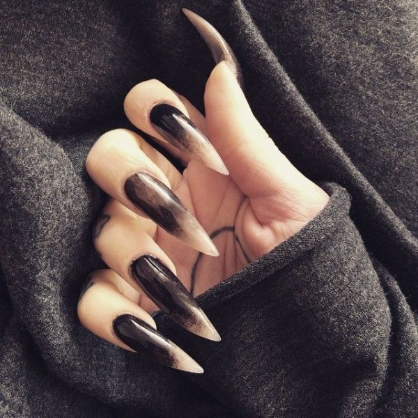 halloween-nail-ideas-47 89+ Seriously Spooky Halloween Nail Art Ideas