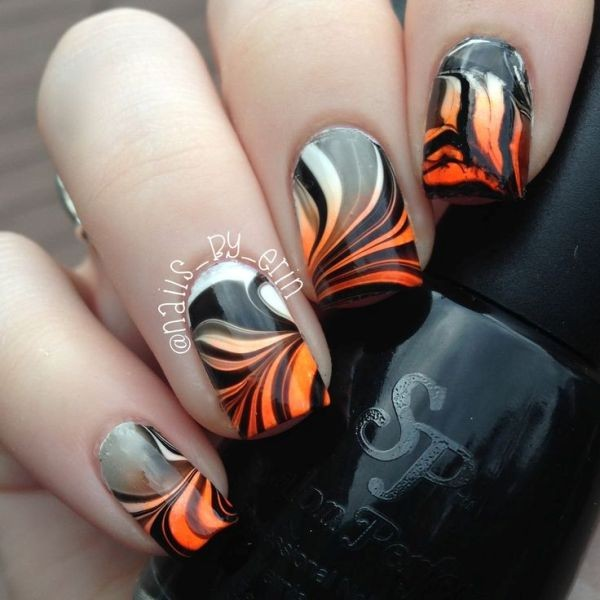 halloween-nail-ideas-48 89+ Seriously Spooky Halloween Nail Art Ideas