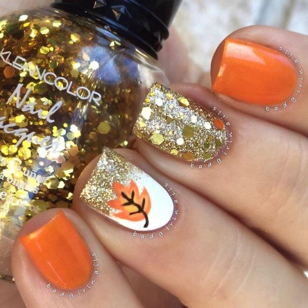 halloween-nail-ideas-59 89+ Seriously Spooky Halloween Nail Art Ideas
