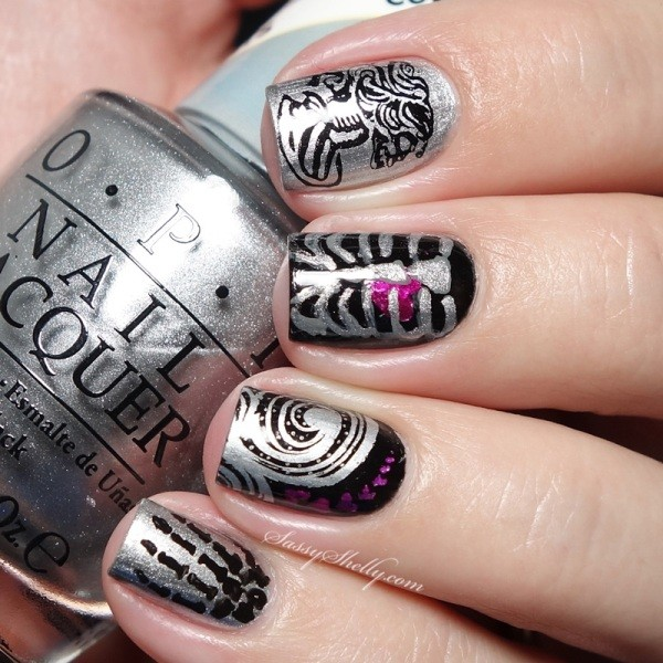 halloween-nail-ideas-98 89+ Seriously Spooky Halloween Nail Art Ideas