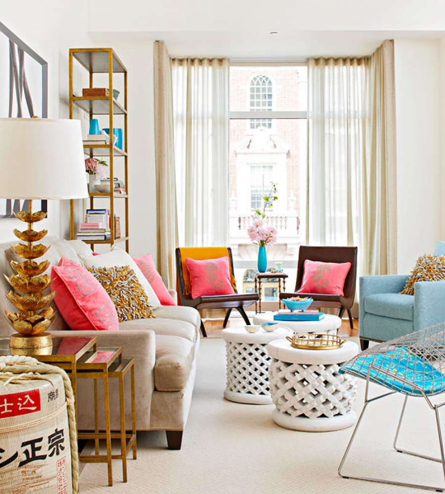 living-room Best 7 Inspired Spring Rooms Design Ideas for 2018