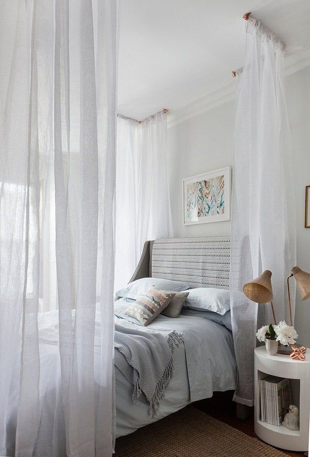 modern-canopy-bed Canopy Beds through History... 35+ Bedroom Designs