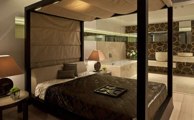 modern-canopy-bedroom-2-675x418 Canopy Beds through History... 35+ Bedroom Designs