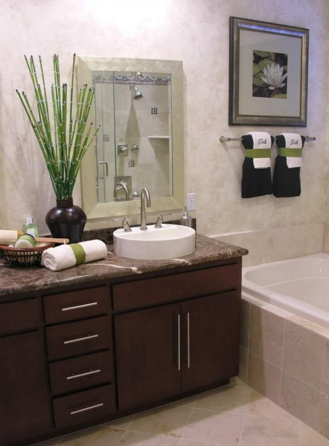 plant-bamboo-bathroom-675x914 7 Unique Ways to Get Luxury Hotel Bathroom at Home