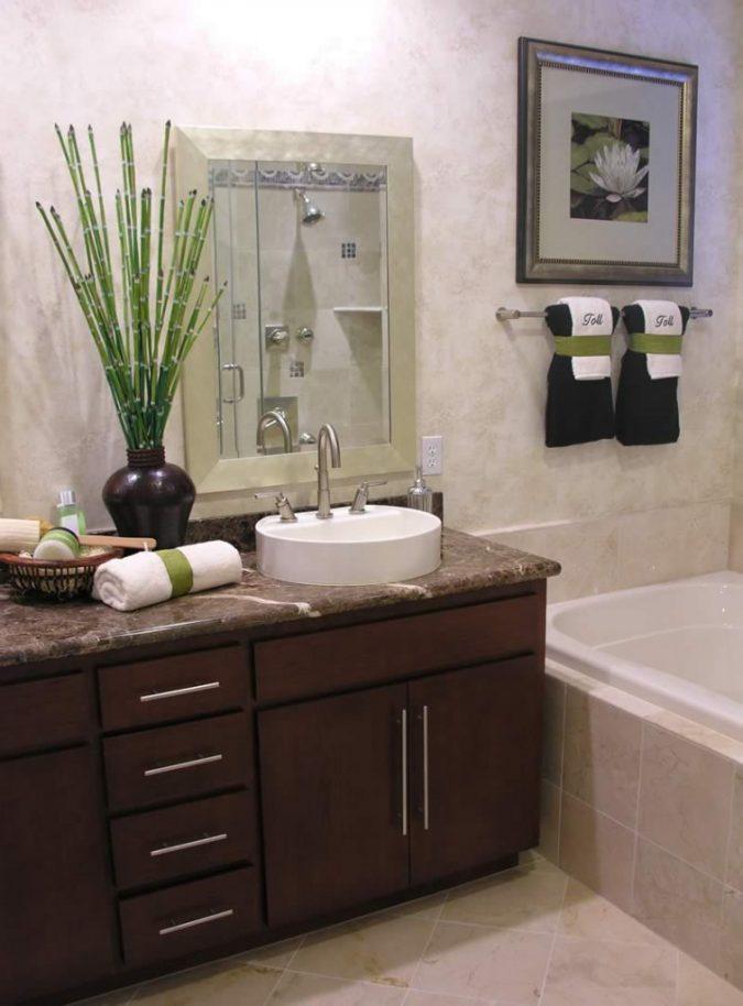 plant-bamboo-bathroom-675x914 7 Unique Ways to Get Luxury Hotel Bathroom at Home