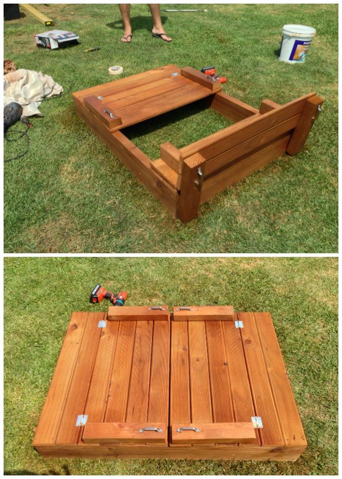 sanbox-garden-benches1 15 killer Garden Bench Decoration Ideas