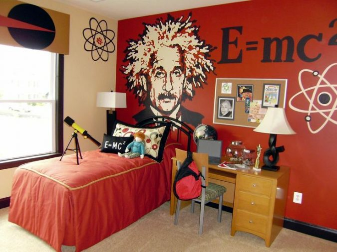 science-boys-room-675x506 Top 10 Coolest Room Design Ideas for Guys ... [2018 Trends]