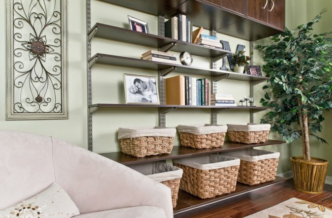 small-apartment-shelving-organization-675x443 5 Best Ways to Make Your Small Space Cleaner