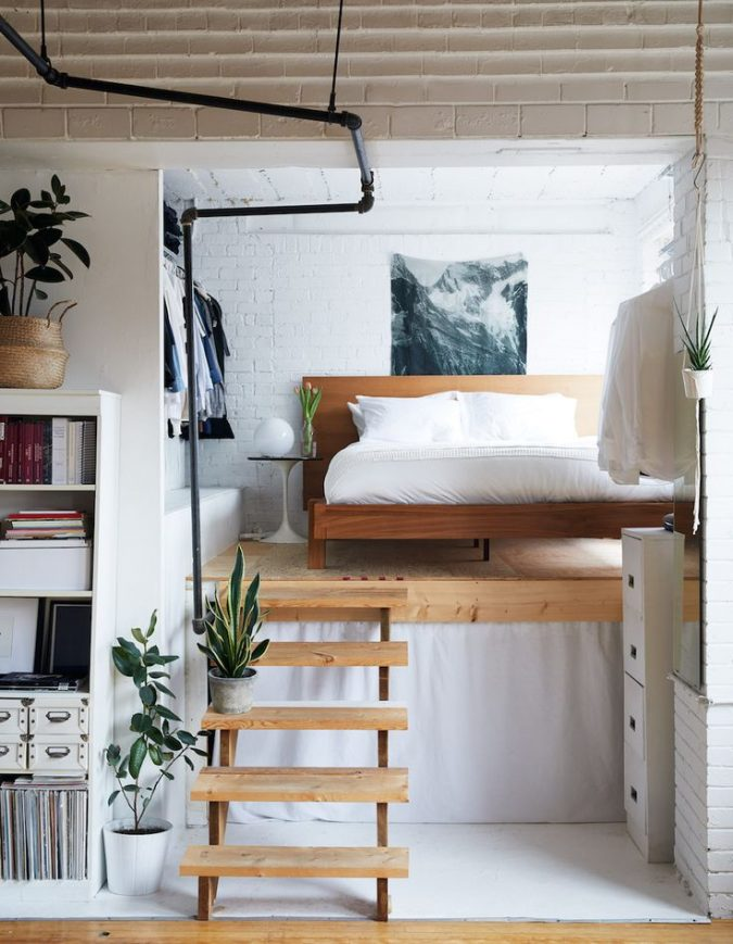 small-loft-spaces-small-space-living-675x869 5 Best Ways to Make Your Small Space Cleaner