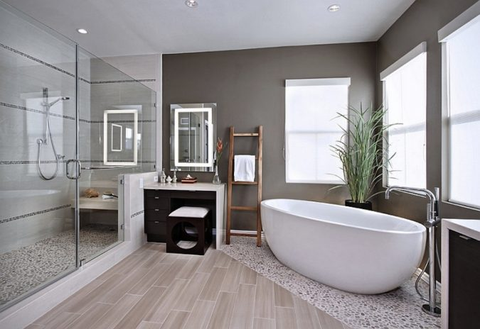 spa-like-bathroom-at-home-675x464 7 Unique Ways to Get Luxury Hotel Bathroom at Home