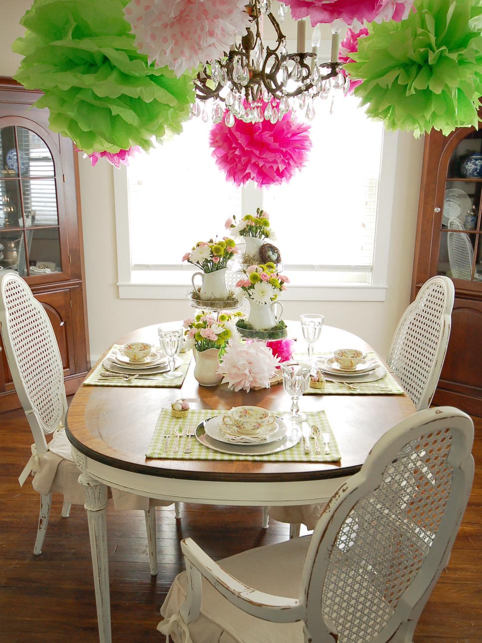 spring-dining-room-designs Best 7 Inspired Spring Rooms Design Ideas for 2018