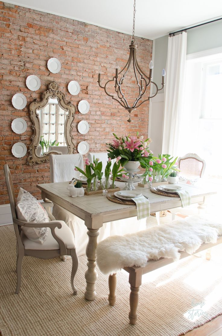 spring-dining-room-designs1 Best 7 Inspired Spring Rooms Design Ideas for 2018