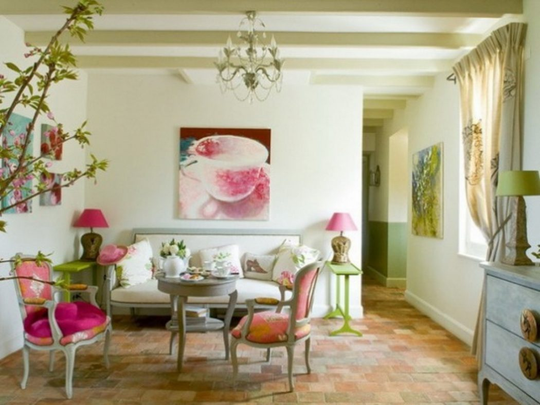 spring-living Best 7 Inspired Spring Rooms Design Ideas for 2020