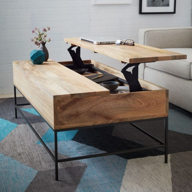 storage-coffee-table-for-small-spaces-675x675 5 Best Ways to Make Your Small Space Cleaner