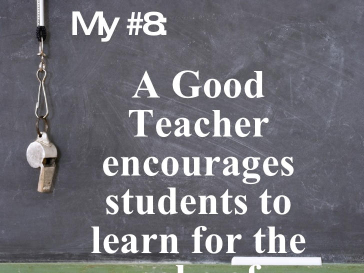 teacher Most Important Things For Students to Learn