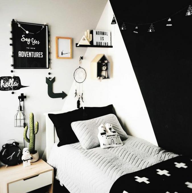 teenage-boy-room-1-675x679 Top 10 Coolest Room Design Ideas for Guys ... [2018 Trends]