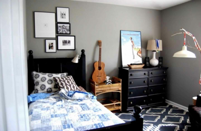 teenage-boy-room-675x439 Top 10 Coolest Room Design Ideas for Guys ... [2018 Trends]