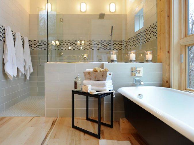 usig-tray-to-organize-bathroom-675x507 7 Unique Ways to Get Luxury Hotel Bathroom at Home