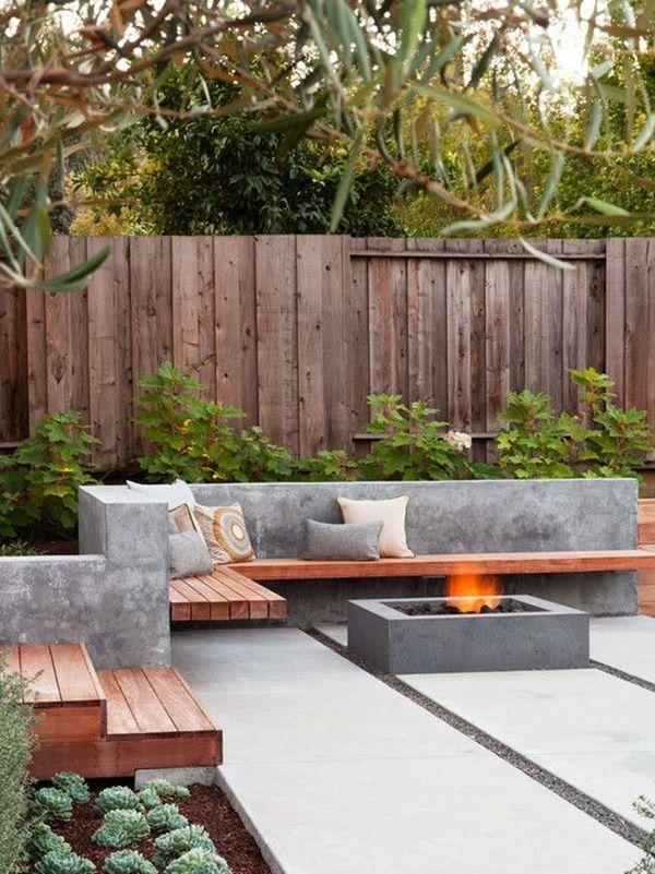 wall-bench-garden-benches 15 killer Garden Bench Decoration Ideas