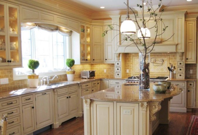 white-kitchen-with-plants-2-675x460 Top 10 Best White Bright Kitchen Design Ideas