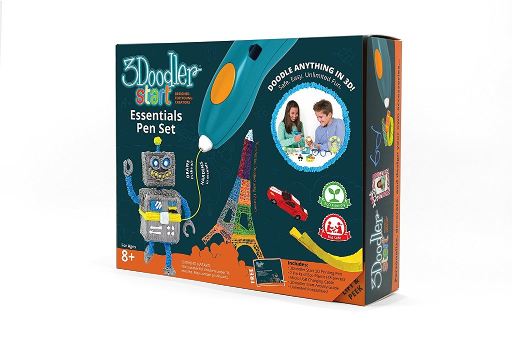 3Doodler-Start-Essentials-3D-Printing-Pen-Set 40+ Hottest Christmas Toys Your Kids Really Want in 2018