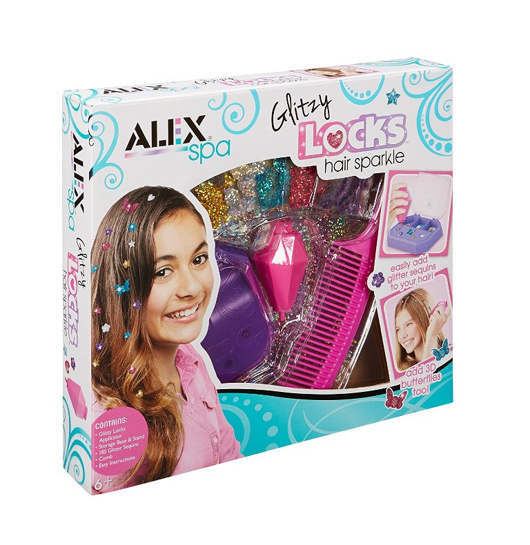 ALEX-Spa-Glitzy-Locks-Hair-Sparkle 40+ Hottest Christmas Toys Your Kids Really Want in 2018