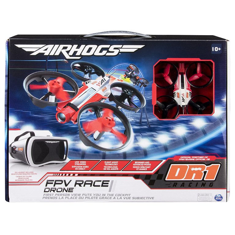 Air-Hogs-DR1-FPV-Race-Drone 40+ Hottest Christmas Toys Your Kids Really Want in 2021