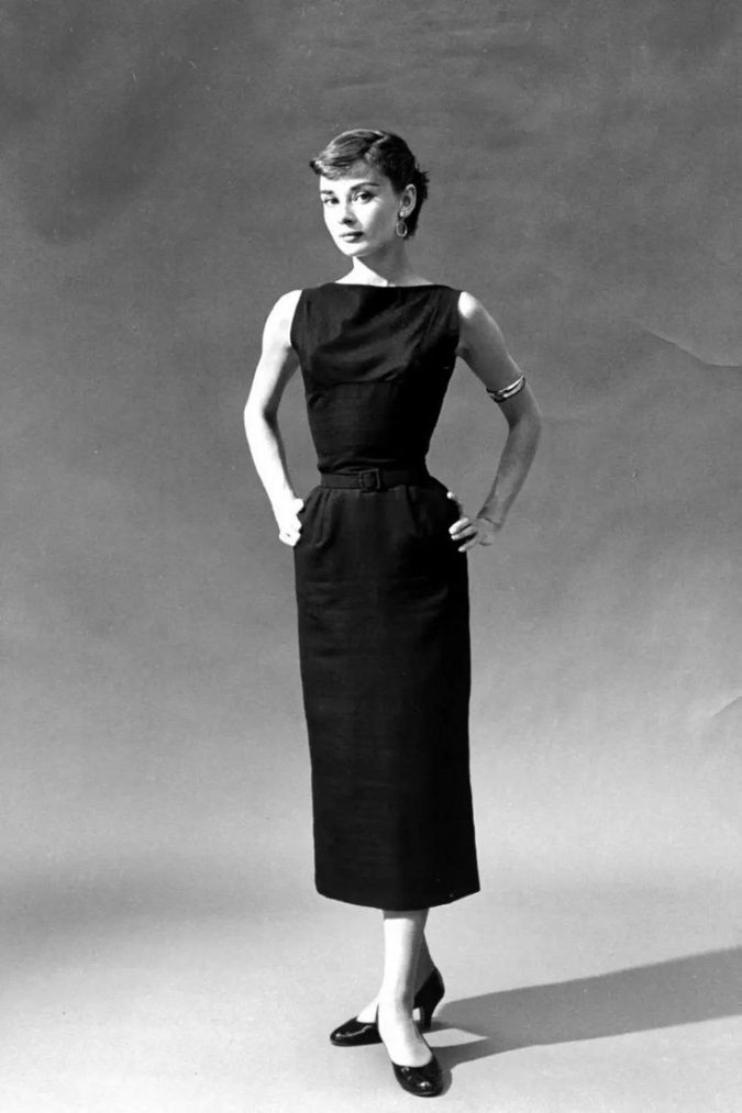 Audrey-Hepburn-Coco-Chanel-little-black-dress-675x1013 Know What's In and Out in the Fashion World