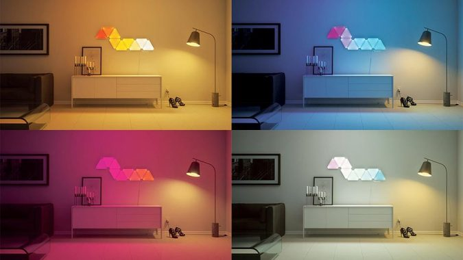 Aurora-Smart-Lighting-Panels-1-675x380 Top 10 Unique Lighting Products Trending in 2020