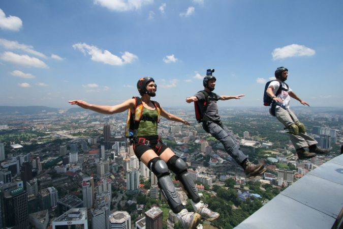 BASE-Jumping-675x450 History of Skydiving: The Ultimate Thrill