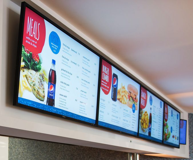 Digital-Signage-675x560 7 Reasons Digital Signage Gets Your Business More Customers