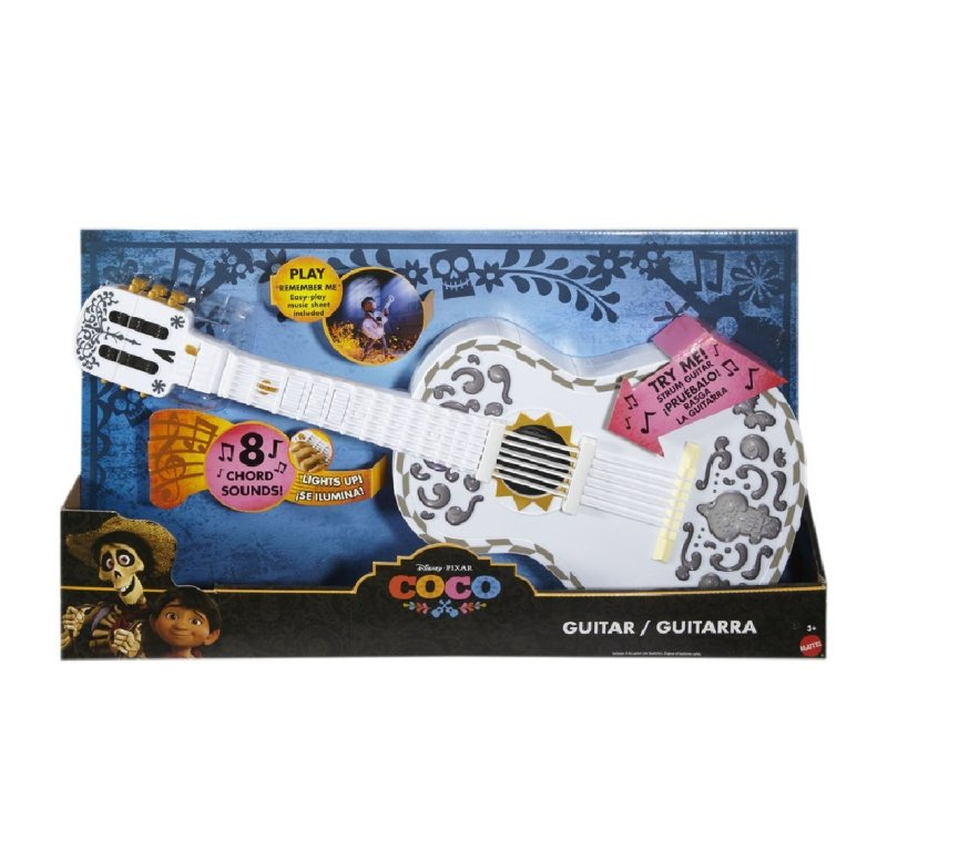 Disney-Pixar-Coco-Guitar-–-White 40+ Hottest Christmas Toys Your Kids Really Want in 2021