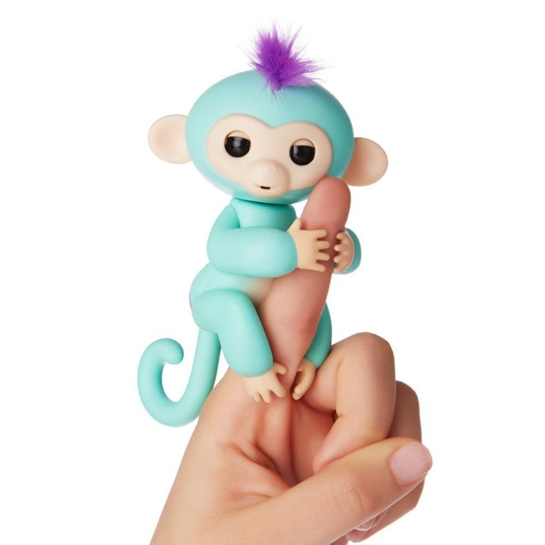 Fingerlings-Interactive-Baby-Monkey-Zoe 40+ Hottest Christmas Toys Your Kids Really Want in 2018