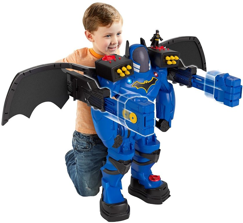 Fisher-Price-Imaginext-DC-Super-Friends-Batbot-Xtreme 40+ Hottest Christmas Toys Your Kids Really Want in 2021