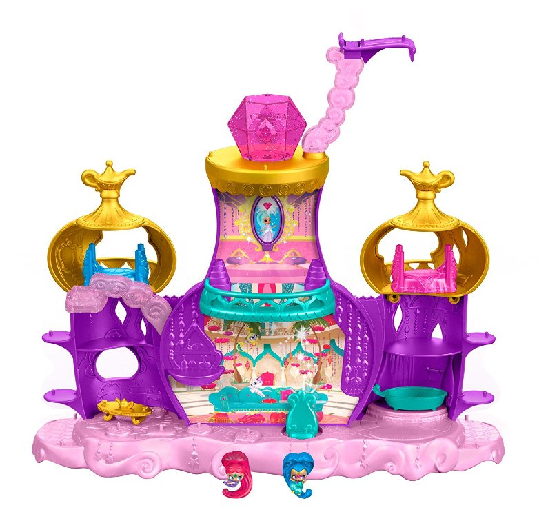 Fisher-Price-Nickelodeon-Shimmer-and-Shine-Teenie-Genies-Floating-Genie-Palace 40+ Hottest Christmas Toys Your Kids Really Want in 2018