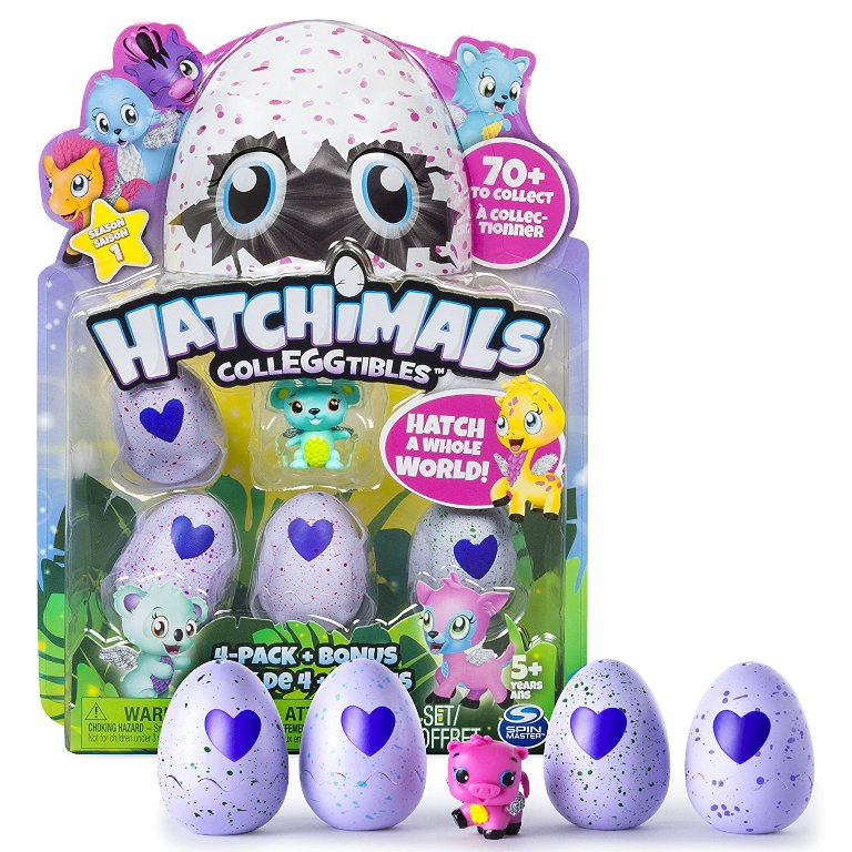 Hatchimals-CollEGGtibles 40+ Hottest Christmas Toys Your Kids Really Want in 2018