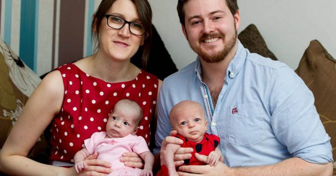 Hayley-Haynes-and-Sam-Haynes-with-daughters-675x354 Facing Infertility Feelings: Choosing Frozen Donor Egg IVF