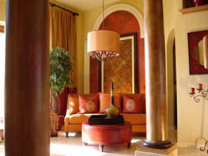 Indian-colors-Indian-interior-design-675x507 Top 5 Indian Interior Design Trends for 2018
