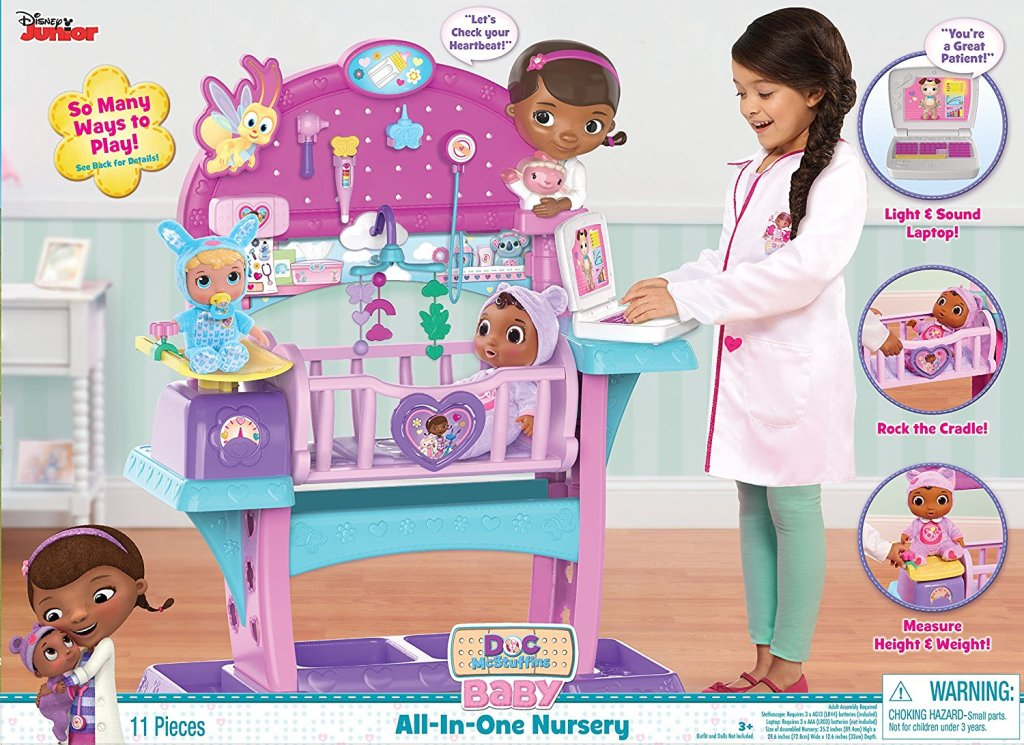 Just-Play-Doc-Mcstuffins-Baby-All-in-One-Nursery-Toy 40+ Hottest Christmas Toys Your Kids Really Want in 2018